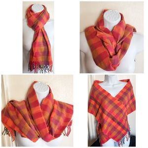 NEW!!! Multicolor Plaid Scarf